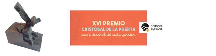 Convocatoria Premios Cristobal de la Puerta, Editorial Agrícola, 2016.